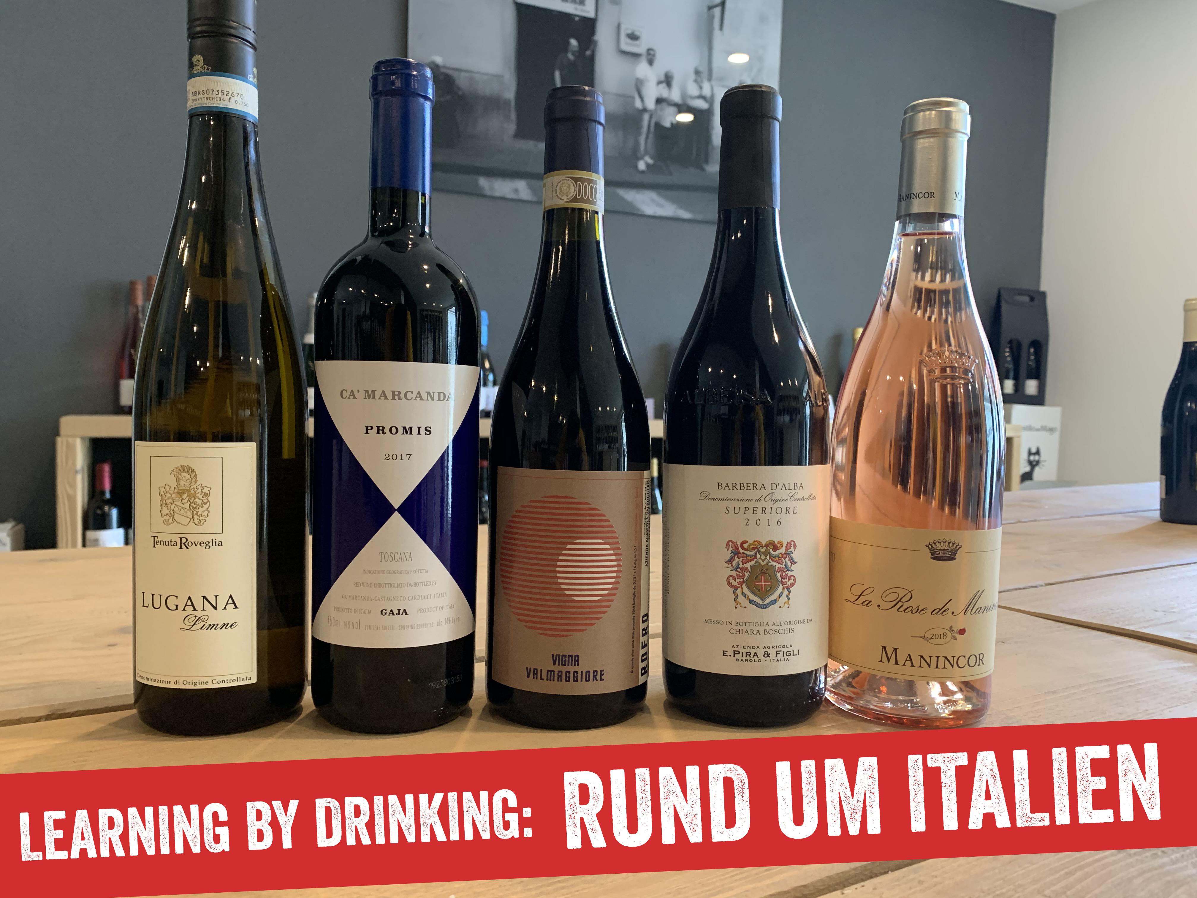 LEARNING BY DRINKING: Rund um Italien 20.11.2021